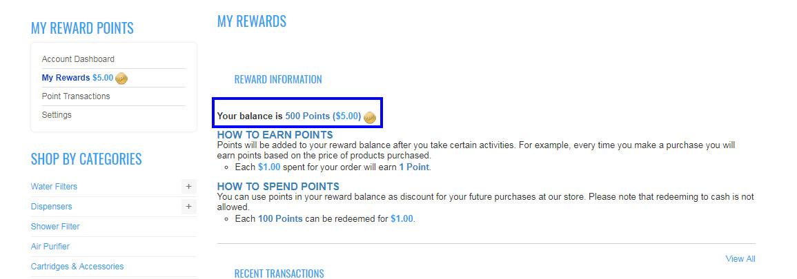 DF Reward Points